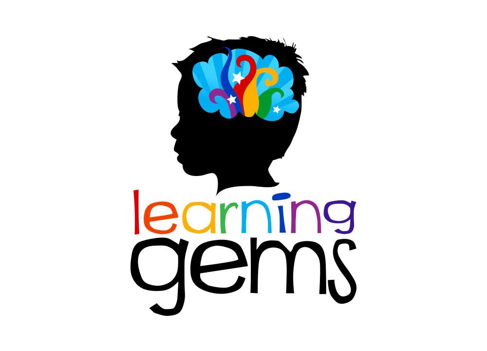 Learning Gems Logo Design