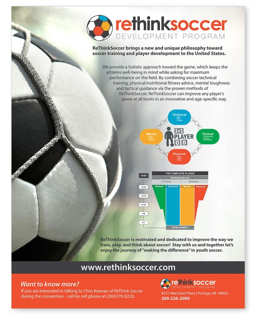ReThink Soccer Flyer Design