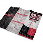 Erbelli's Take Out Menu Trifold