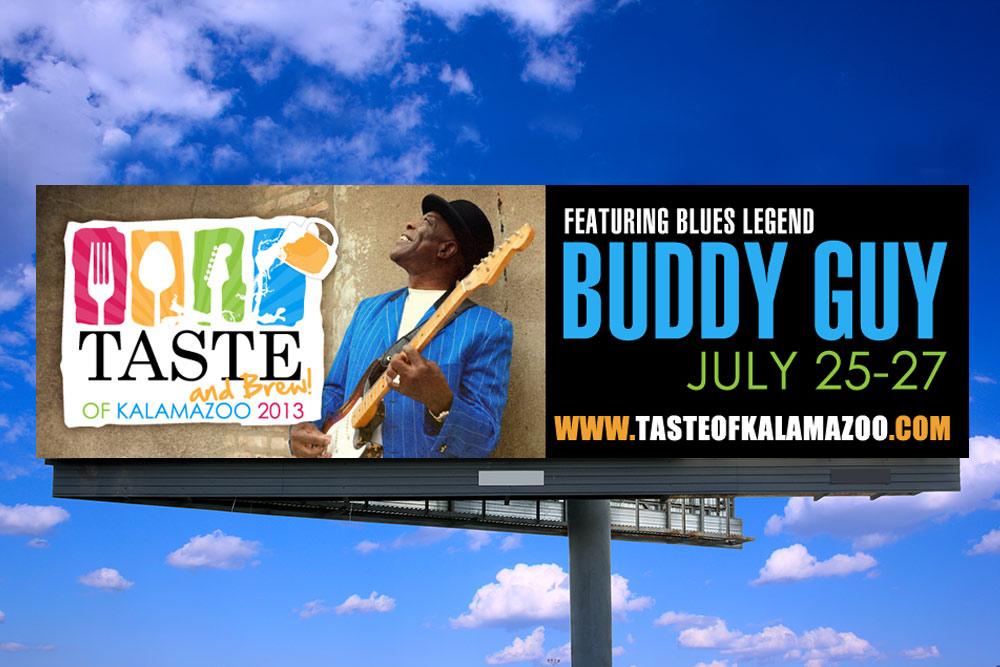 Taste of Kalamazoo - Billboard Design