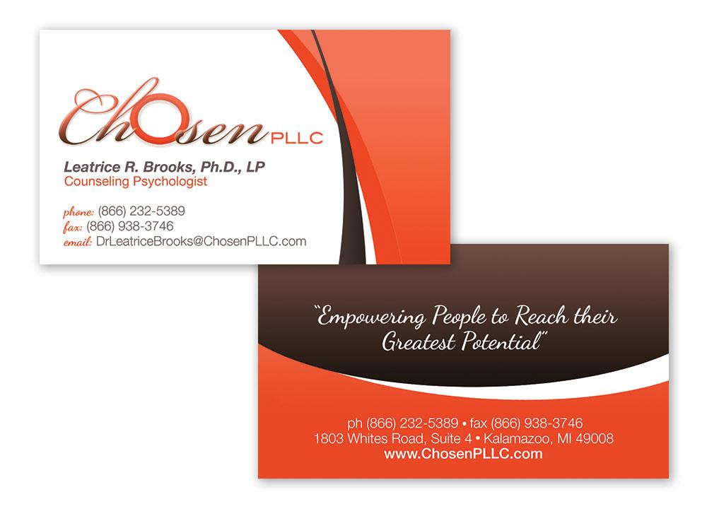 Chosen Business Card Design