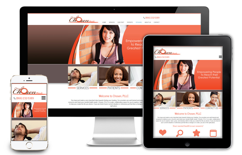 Chosen Website Design
