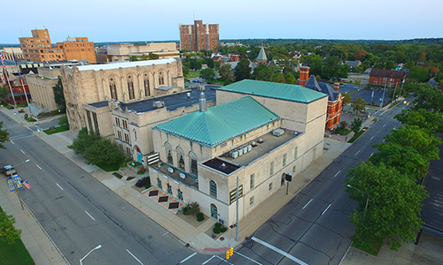 Drone Photography - The Kalamazoo Civic