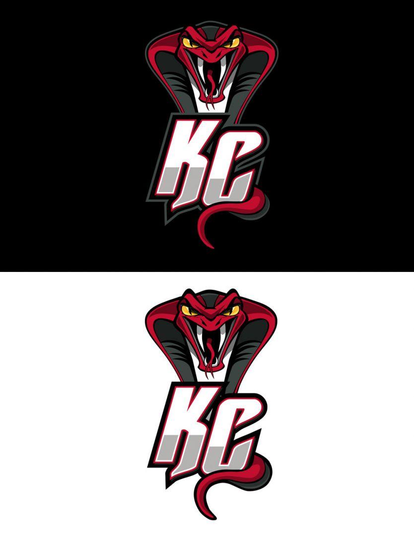 Kalamazoo Cobras KC Logo Design