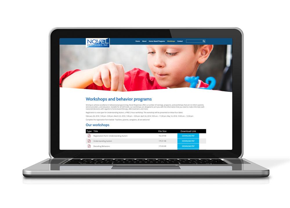 Novel Responses - Website Design