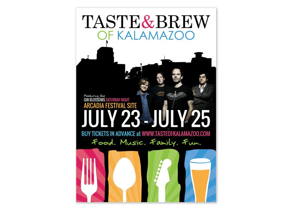 Taste of Kalamazoo - Flyer Design