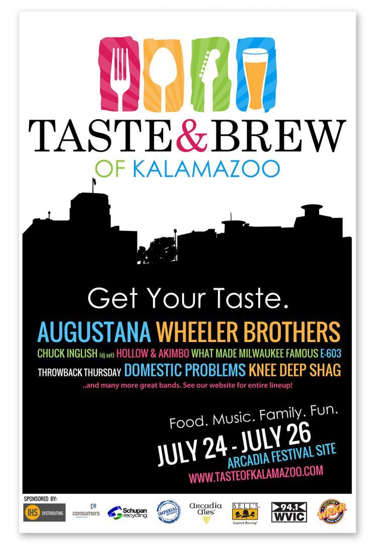 Taste of Kalamazoo - Poster Design