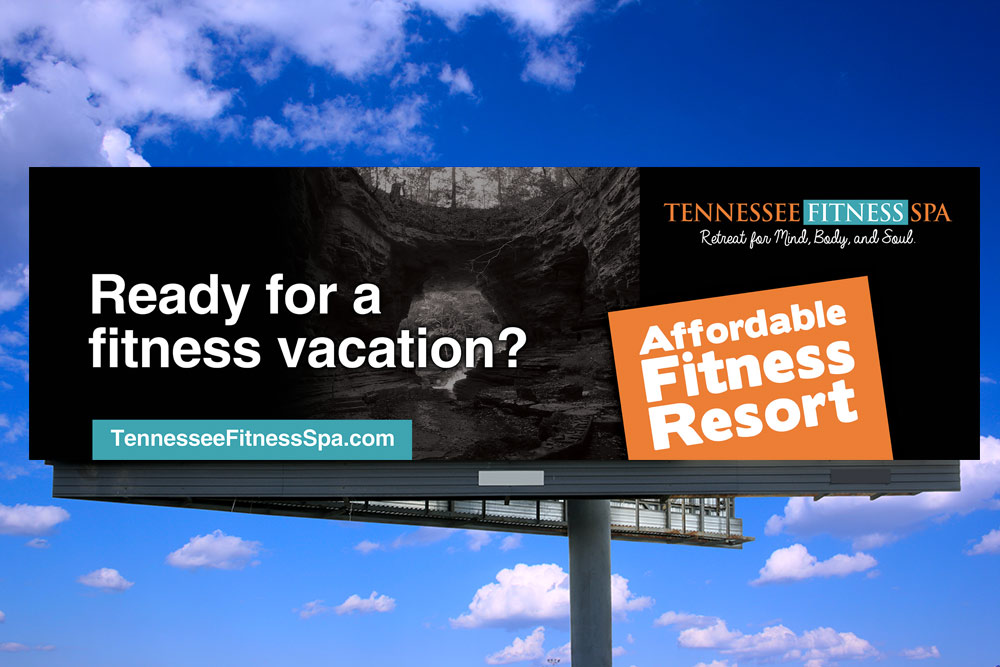 Tennessee Fitness Spa - Billboard Design