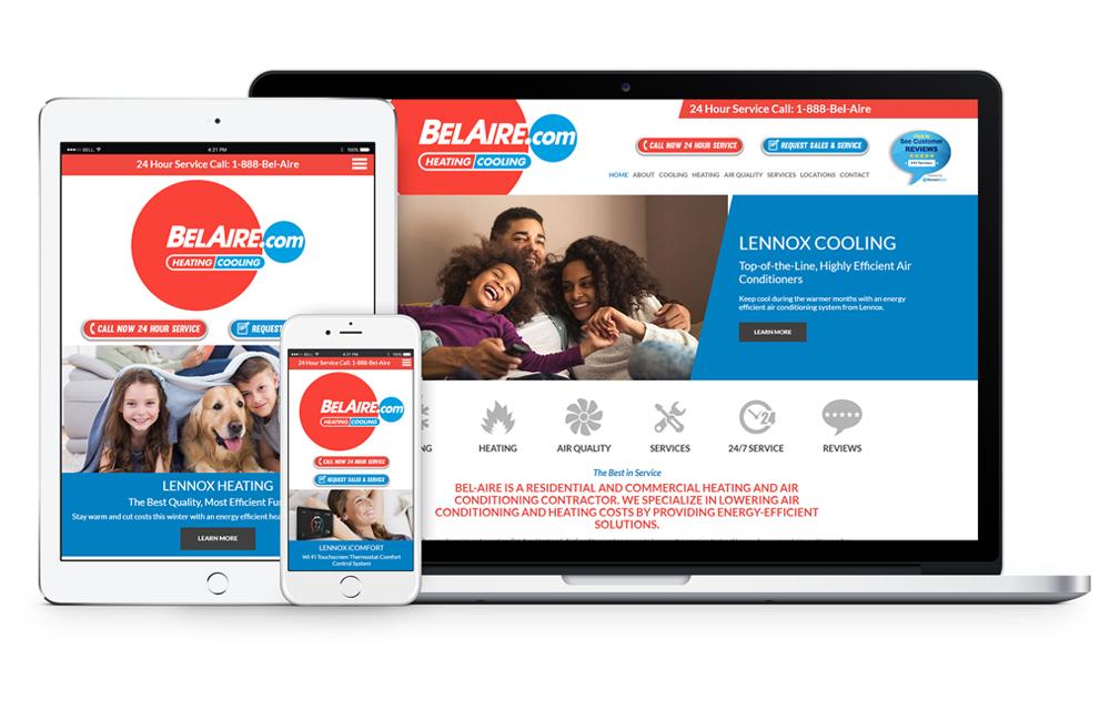 BelAire Web