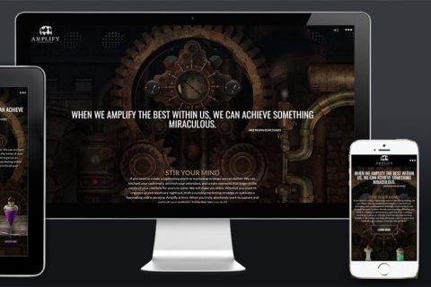 Amplify Marketing - Responsive Web Design