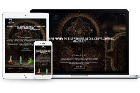 Amplify Marketing Web Design